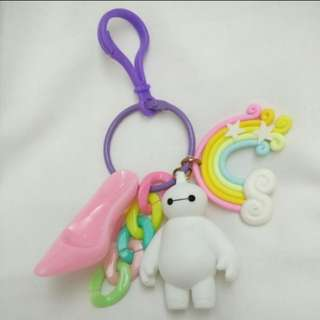 Baymax Rainbow Bag Decoration / Bag Charm (Hero)
