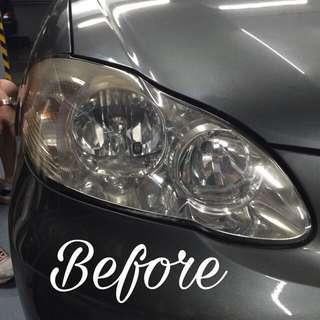 Headlamp tinting service