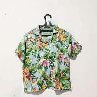kemeja tropical
