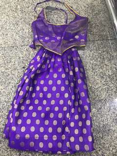 Girl Dress Indian 1 year old