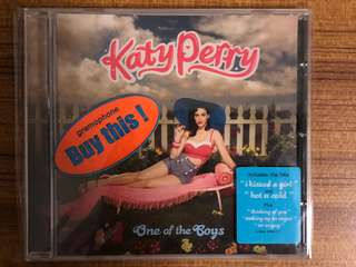 Katy Perry - One of the Boys Used CD Pop Music