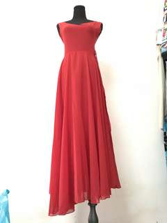 Red Long Dress