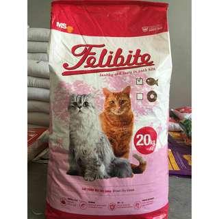 Makanan kucing- Felibite 20 Kg