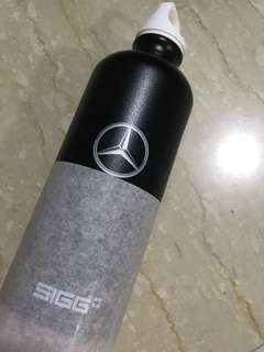 BN SIGG Mercedes Benz water bottle