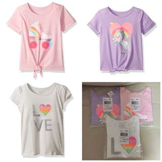 SALE 55% Off - 3 for $20 - 2 years BNWT The children's place baby girls tee.