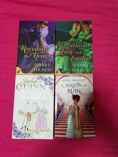 Recency Romance (4 books)