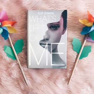 [YOUNG ADULT YA BOOKS] What's Left of Me by Amy Zhang