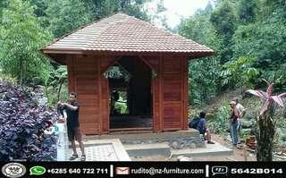 Gazebo Surau Garden Minimalis