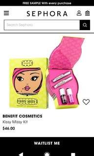 Benefit Kissy Missy Lip Set