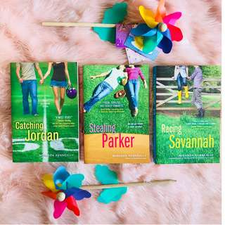 [YOUNG ADULT YA BOOKS] Catching Jordan, Stealing Parker, and Racing Savannah