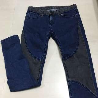 正韓牛仔褲 Greeda 窄管褲 顯瘦牛仔褲
