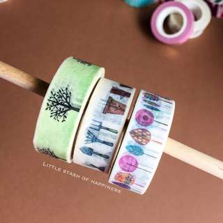 FREE NORMAL MAIL - Washi Tapes #011 #012 #013