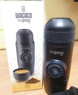 WACACO 迷你便攜式咖啡機 意式濃縮手壓咖啡雀巢膠囊機Minipresso