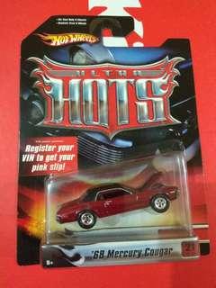 Hotwheels Mercury Cougar Ultra Hots