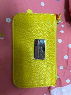 Mango Woven Leather bag