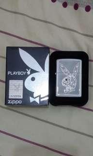 Zippo 日版斯華洛世奇珍珠白playboy限量版火機