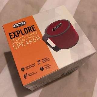 X-mini™ EXPLORE SPLASH PROOF WIRELESS PORTABLE SPEAKER