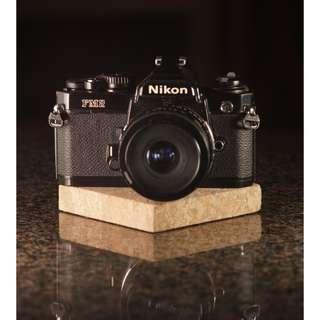 Nikon FM2 + 28mm