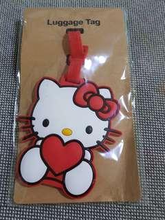 Hello kitty luggage tag/Bag tag