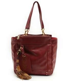 (預訂款) Chole 紅色手提袋