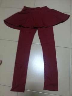 Snappy skirt leggings for girls