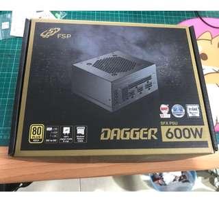 全漢 DAGGER 600W 全模組化SFX電源 power 電源供應器