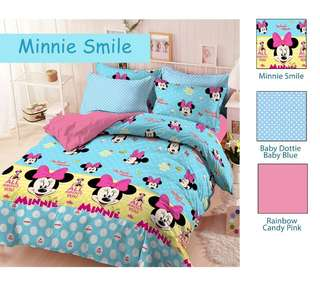 NEW!!! Minnie Mouse Bedcover Set