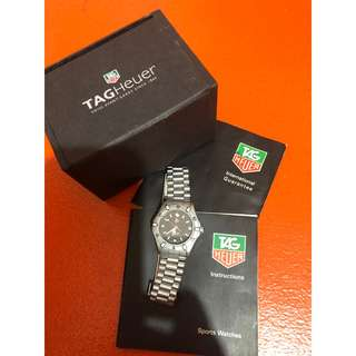 Authentic all original TAG Heuer AUTOMATIC 200m swiss watch, AUTOMATIC sets it apart from other TAG HEUER Professional only watch.