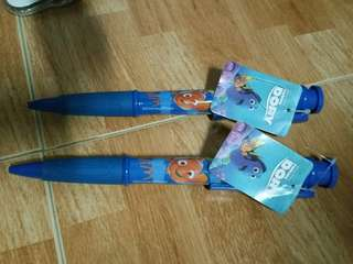 Disney Finding Dory Huge  blue pens souvenir