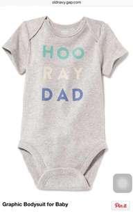BN Old Navy Hooray Dad In Heather Grey