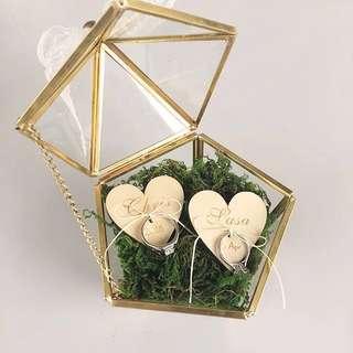 Wedding Ring Box - Custom