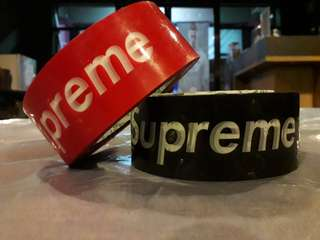 Supreme tape box sticker