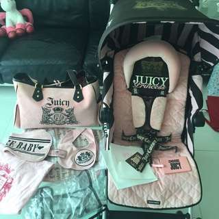 Maclaren limited Edition juicy Couture ryder