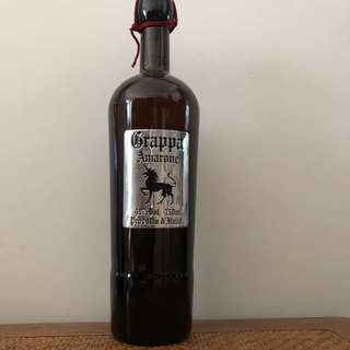 Grappa Amarone Barrique (750ml) from Italy