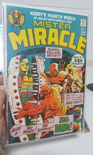 Mister Miracle #4 1971 1st appearance of Big Barda
