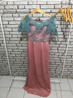 Long dress kebaya