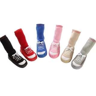Baby high socks soft shoes
