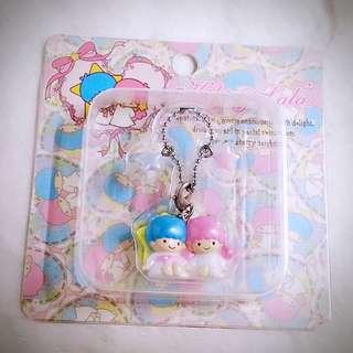 Little Twin Stars 715529 Sanrio Product 日本空運 可愛 幸運星 公仔 吊飾 限定商品 日本限定 珍藏 紀念 小禮物 小吊飾 掛飾(雙星仙子,KiKi&LaLa)(リトルツインスターズ)