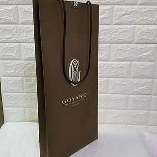 Tower Tall Goyard 紙袋 (Very Special and Unique) Paper Bag