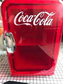 可口可樂迷你雪櫃擺設