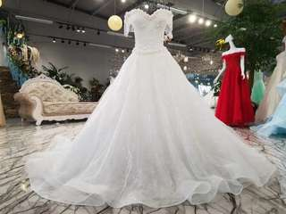 Wedding Dress - Crystal White
