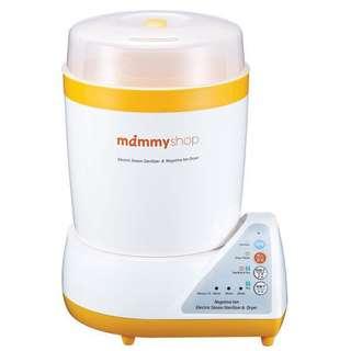 Mammy shop蒸氣式負離子烘乾消毒鍋 奶瓶消毒機 奶瓶鍋