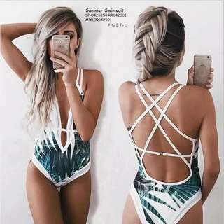 SUMMER SWIMSUIT Fits S To L