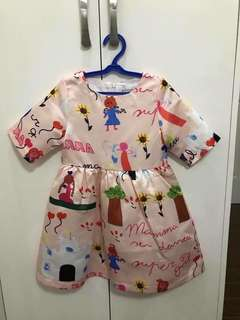 D&G Inspired Girls Dress