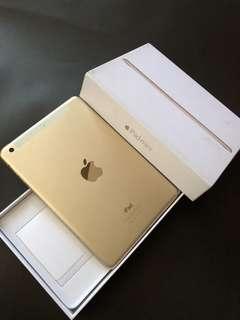 Last Price iPad Mini 3 Wifi Cellular 64GB Gold Smart Locked