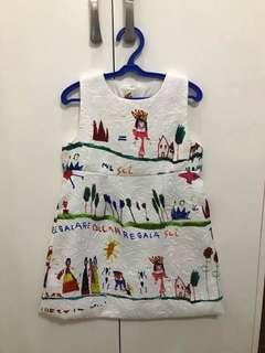 D&G Inspired Girls Dress