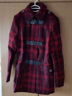 LAST PRICE! BURBERRY BRIT Red Coat Sidburylt Jack