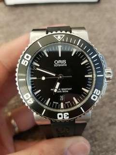 Oris Aquis Diver Black