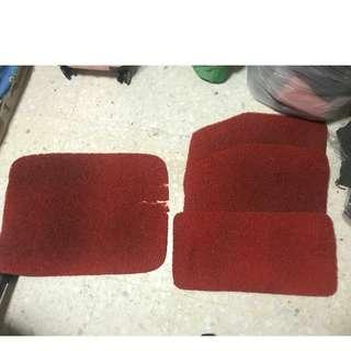 Nissan Latio Car Mat (Red)