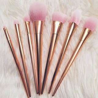 Metal Makeup Brushes